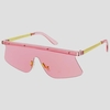 BRIGHT SHIELD COLOR SUNGLASSES FUNKY STYLE