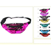 MERMAID COLORS SEQUIN FANNY PACKS, 3 ZIPPERS
