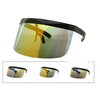 LARGE SHIELD SUNGLASSES, ASSORTED REVO LENS