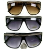 CHAIN LOOK ALONG TOP 80&#39S STYLE FRAMES SUNGLASSES