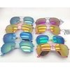 AVIATOR COLOR BRIGHT COLOR FRAMES, REVO LENS SUNGLASSES