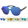 REVO LENS 1 PIECES SHIELD AVUATOR LOOK SUNGLASSES