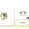 GOLD COLOR CHUNKY MENS RING  4 SIZES
