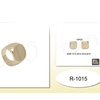 GOLD FLAT TOP MENS RING  4 SIZES