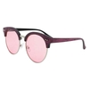 ROUND SOHO SUNGLASSES WITH ASSORTED COLOR LENSES