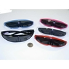 ROBOT/FUTURISTIC WRAP SUNGLASSES ASSORTED COLORS DARK LENS