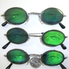 HOLOGRAM EYE OVAL SHAPE SUNGLASSES