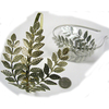 GOLD/SILVER METAL LEAF HEABAND