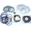 COIL METAL BRACELETS IN ASSORTED COLORS WITH COLOR BALLS