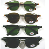 RETRO FUNKY SOHO LOOKING SUNGLASSES  ASSORTED