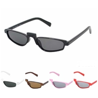 SMALL PLASTIC FRAMES TOP TOP FUNKY SUNGLASSES