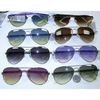 AVIATOR STYLE FRAMES IN ASSORTED LENS COLORS AND NICER ARMS