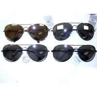 AVIATORS XL SIZE WITH MIRROR LENS ASSORTED FRAME COLORS