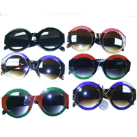 COOL COLORS ROUNDS LENS MULTI COLOR FRAMES AND BLACK