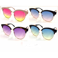 OCEAN LENS ROUNDISH LARGER SOHO STYLE SUNGLASSES