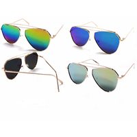 REVO LENS, METAL FRAMES AVIATOR LOOK SUNGLASSES
