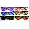 CUTE CAT TRENDING FRAMES SUNGLASSES COLOR LENSES
