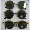 FLAT ROUND LENS FRAMES, GOLD & SILVER COLOR SUNGLASSES
