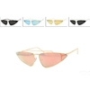COOL SHAPE, SMALL METAL  FRAMES  ASSORTED LENS SUNGLASSES