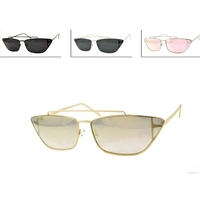 METAL SMALL FRAMES POSTAR/FASHION MODEL STYLE SUNGLASSES