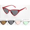 3 SIDED RETRO CAT LOOKING SMALL FRAMES SUNGLASSES