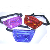IRIDESCENT DARK BRIGHT COLORS FANNY PACKS