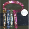 THIN BRACELETS WITH SLGHT GLITTER AND SMALL CLEAR GEMS