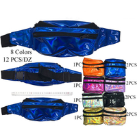 FANNY PACKS 8 BRIGHT COLORS