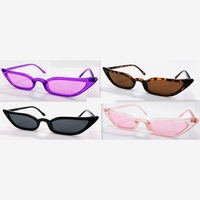 SMALL FRAMES CAT SHAPE, COOL COLORS SUNGLASSES