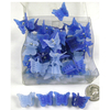 MINI BUTTERFLY HAIR CLIPS IN 3 SHADES OF BLUE PRICE BREAKS