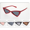 RETRO TRIANGLE SHAPE SUNGLASSES ASSORTED COLORS, POPULA LOOK
