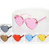 HEART SHAPE INJECTION MOLD FRAMES SUNGLASSES ASSORTED COLORS