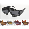 FUNKY SHAPE GEM LOOK ASSORTED COLOR FRAMES SUNGLASSES