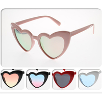 HEART SHAPE, GREAT STYLE AND COLORS SUNGLASSES