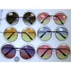 OCEAN LENS, JANIS SIZE ROUND METAL SUNGLASSES, EXTRA BAND
