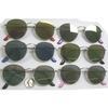 COOL SHAPE METAL FRAMES IN ASSORTED REVO COLOR LENS SUNGLASSES
