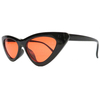 CAT SHAPE SMALL FRAME ASSORTED COLOR FRAMES SUNGLASSES