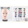SEQUIN CAT EARS HEADBANDS IN ASSORTED COLORS