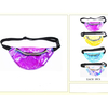 TRANSPARENT COLORED PVC FANNY PACKS 4 COLORS