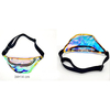 GOLDISH IRIDESCENT TRANCLUENT FANNY PACK