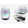 SILVER IRIDESCENT COLOR HAT(BACK TO THE FUTURE LOOK)