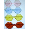 MOUTH LIPS SHAPE COLORFUL SUNGLASSES