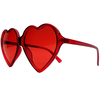 HEART SHAPE SUNGLASSES, WIDE ASSORTMENT OF COLORS