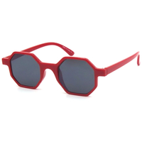 8 SIDED SHAPE COOL COLORS SUNGLASSES