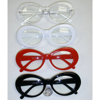 CLEAR LENS, CLOUT STYLE, JACKIE O STYLE FRAMES SUNGLASSES