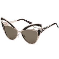 BUTTERFLY WINGS METAL FRAMES & LENSES SUNGLASSES