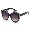 LADIES STYLE WITH GEMSTONES ASSORTED COLORS SUNGLASSES