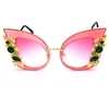 LADIES FRAMES DECORATIVE DESIGN SUNGLASSES
