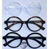 CLEAR LENS ROUNDISH SHAPE GLASSES