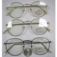 CLEAR LENS COOL SHAPE METAL GOOD QUALITY FRAMES.